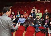 Los alumnos de Ciencias Políticas de la Universidad de Murcia analizaron la gestión municipal con el alcalde
