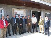 Visita del consejero Constantino Sotoca a las instalaciones de la Fundaci�n Laboral de la Construcci�n