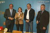 Pedro Antonio S�nchez: Ahora m�s que nunca el partido y el Gobierno regional apoya a la ejecutiva local y al equipo de Gobierno