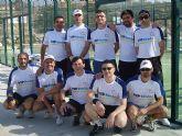 El equipo de padel del Club de Tenis Totana roz� la machada