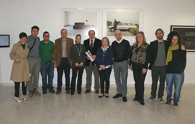 El Alcalde de Puerto Lumbreras, el director general de Promoción Cultural y la directora del Instituto de la Juventud inauguran el Explum 09 - 1, Foto 1