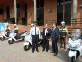 La Policía Local de Molina de Segura pone en funcionamiento cuatro nuevos vehículos destinados a la Unidad de Tráfico