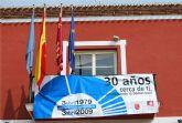 """El Ayuntamiento de Alhama de Murcia se suma a la campaña """"30 años cerca de ti, consolidando la democracia"""""""