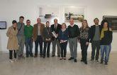 El Alcalde de Puerto Lumbreras, el director general de Promoción Cultural y la directora del Instituto de la Juventud inauguran el Explum 09