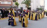 Puerto Lumbreras acoge la tradicional Procesión Infantil con la participación de cerca de 50 niños