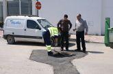 El Ayuntamiento finaliza las obras de sustitución e instalación de la nueva red de abastecimiento de agua potable en el Camino Viejo