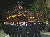 El Nazareno protagonizó la noche en Puerto Lumbreras con un desfile cargado de emoción