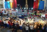 9.000 visitantes en la XIII feria de minerales y fósiles