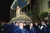 La Virgen de Los Dolores mostró su esplendor en su nuevo Trono