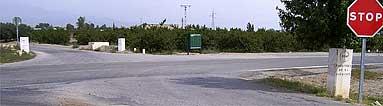 Obras Públicas eliminará otro punto negro señalizado en la carretera que conecta Puerto Lumbreras con la estación de ferrocarril