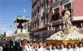 Puerto Lumbreras culmina su Semana Santa 2009 con la procesión del Encuentro