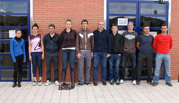 El Ayuntamiento concede las becas a deportistas lumbrerenses - 1, Foto 1