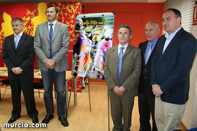 Presentación de la Vuelta Elite Sub 23 Región de Murcia-Vuelta a Cartagena, Foto 1