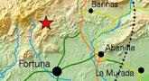 Un terremoto de 3,7 grados sacude el noreste de la Región de Murcia