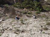 Los j�venes mazarroneros se inician en la escalada