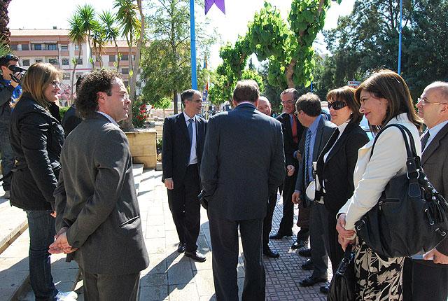 La Consejería de Educación, Formación y Empleo celebra su consejo de dirección en Alhama, Foto 2