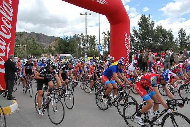 La 2ª Etapa de la XXVIII Vuelta Ciclista a Cartagena Vuelta Elite Sub-23 a la Región de Murcia se celebró en la localidad, Foto 2