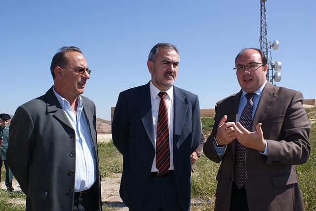 El delegado del Gobierno visita las obras en el Castillo de Nogalte en Puerto Lumbreras realizadas con cargo al Plan de Dinamización Turística - 1, Foto 1