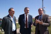 El delegado del Gobierno visita las obras en el Castillo de Nogalte en Puerto Lumbreras realizadas con cargo al Plan de Dinamización Turística