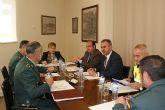 El delegado del Gobierno copreside la Junta Local de Seguridad del Puerto Lumbreras