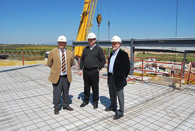 Las infraestructuras que darán servicio al Plan Especial de Infrestructuras de la Zona Sur de Alhama ya están casi terminadas, Foto 1