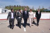 El delegado del Gobierno y la alcaldesa de San Javier inauguran un Parque Infantil de Tráfico en ese municipio