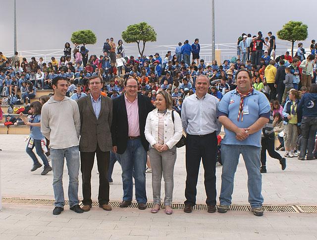 Más de 2.000 Scouts se reúnen en Puerto Lumbreras para festejar San Jorge - 1, Foto 1
