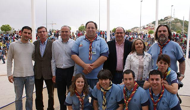 Más de 2.000 Scouts se reúnen en Puerto Lumbreras para festejar San Jorge - 2, Foto 2
