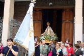 La Patrona de Alcantarilla, la Virgen de la Salud, es traslada en romería a su ermita en el paraje del Agua Salá