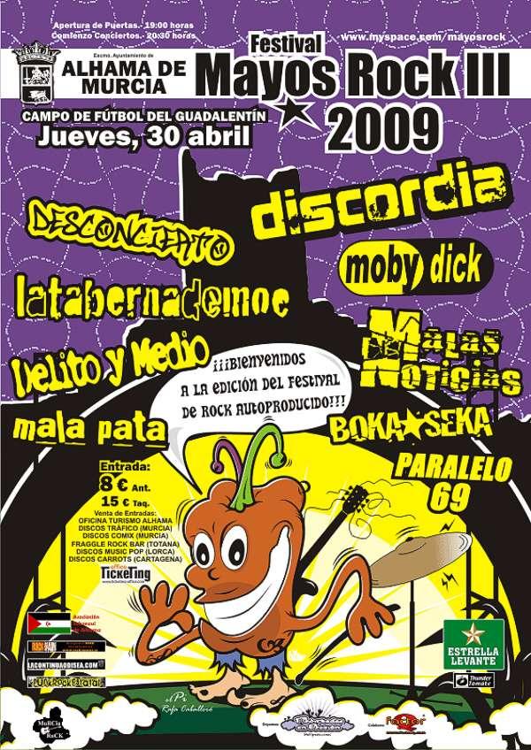 III Festival Mayos Rock - El festival de rock autoproducido, Foto 1
