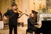 El Dúo Branconi / Marchegiani ofrece un RECITAL DE VIOLA Y PIANO el martes 28 de abril en el Teatro Villa de Molina