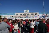 Más de 200 trabajadores de Halcón Foods se concentran para impedir la entrada a la fábrica y para conservar la mercancía