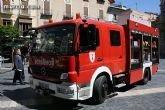 El respeto por el medio ambiente también llega a la flota de vehículos del Servicio de Extinción de Incendios de Murcia