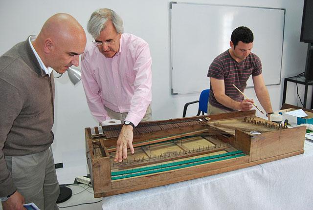 El pianoforte de Tadeo Tornel ya está en proceso de restauración, Foto 1