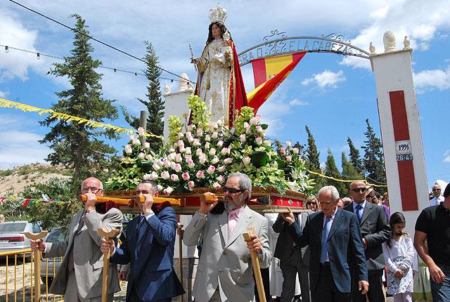 La Pedanía de Las Cañadas celebró sus Fiestas en honor a la Virgen de la Cabeza, Foto 1