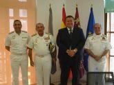 El Almirante de Acción Marítima visita La Unión