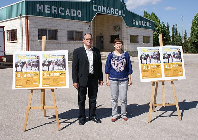 Puerto Lumbreras acoge la tradicional Feria de Ganado Equino con la participación de 600 cabezas de ganado - 1, Foto 1