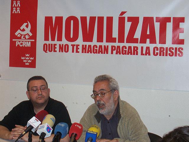 """PCRM-PCE y UJCE de la Región llaman a la participación """"masiva"""" en la manifestación de Primero de Mayo - 1, Foto 1"""