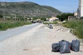GEPNACE recoge 120 sacos de basura en la Vía Verde