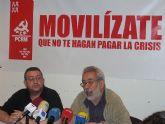 """PCRM-PCE y UJCE de la Región llaman a la participación """"masiva"""" en la manifestación de Primero de Mayo"""