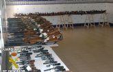La Guardia Civil de Murcia celebra la exposición – subasta de armas correspondiente al año 2009