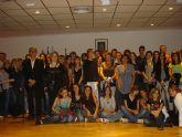 Recepción en el ayuntamiento de alumnos del programa Comenius