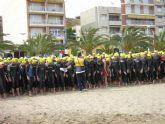 Este fin de semana empieza el campeonato de triatl�n Villa de Fuente �lamo en Mazarr�n
