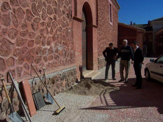 El consistorio acometerá las obras de mejora del drenaje en el Santuario de La Santa, Foto 1