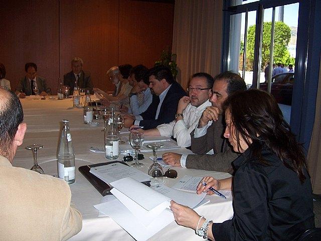 Totana participa en la Comisión Comarcal de Empleo integrada por los municipios de la comarca del Guadalentín, Foto 1