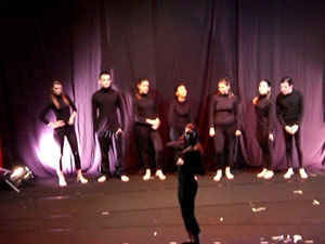 """Los alumnos del Taller de Teatro de la Universidad Popular realizan un preestreno de la funci�n teatral """"Al principio fue el fin"""" y """"La Confesi�n"""", Foto 1"""
