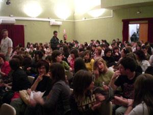 """Los alumnos del Taller de Teatro de la Universidad Popular realizan un preestreno de la funci�n teatral """"Al principio fue el fin"""" y """"La Confesi�n"""", Foto 2"""