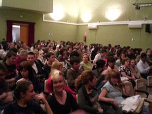 """Los alumnos del Taller de Teatro de la Universidad Popular realizan un preestreno de la funci�n teatral """"Al principio fue el fin"""" y """"La Confesi�n"""", Foto 3"""