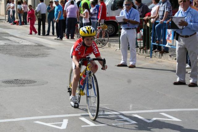 Jose Ángel Camacho, del Club Ciclista Santa Eulalia, 4º en la primera prueba de las Escuelas de Ciclismo, Foto 1