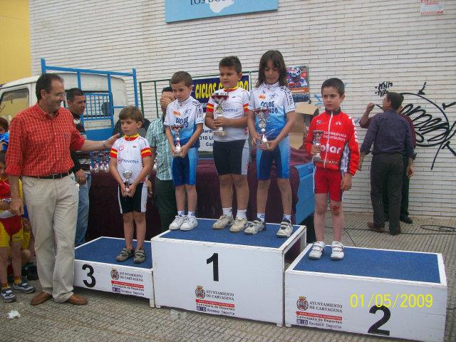 Jose Ángel Camacho, del Club Ciclista Santa Eulalia, 4º en la primera prueba de las Escuelas de Ciclismo, Foto 2